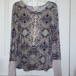 Sundance Embroidered Long Sleeve Top